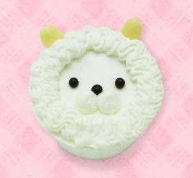 七五三 アルパカちゃんケーキ