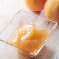 フルーツのジュレ 白桃